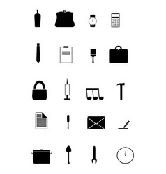 icons 1 vector image vector image