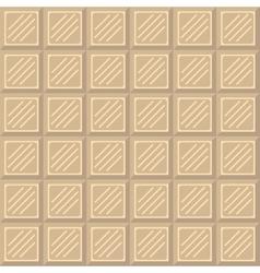 Chocolate bar seamless pattern vector image vector image