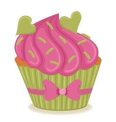 cupcake01 vector image