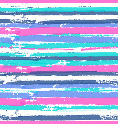 seamless pattern with vibrant colors paint stripes vector image