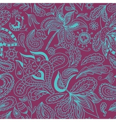 Bali Spa Ornamental Pattern vector image