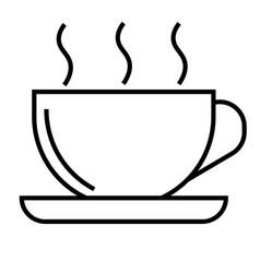 cofee icon vector image