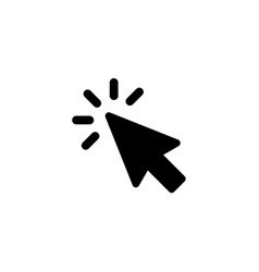 cursor icon vector image