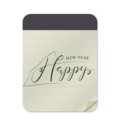 Hand lettering design vector