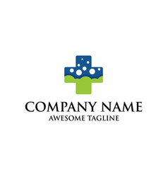 health care symbol logo medical logo cross symbol vector image