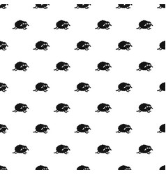 jumping sheep pattern seamless vector image