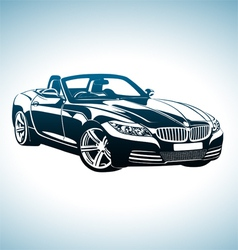 King of sport cars vector
