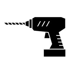 Power drill vector