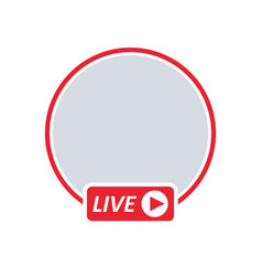 User live video streaming vector