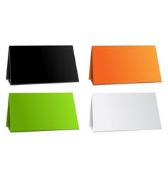 Color empty background for presentation calendar vector image