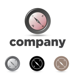 Compass Emblem vector image