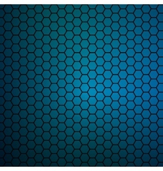 simple colorful background consisting of hexagons vector image vector image
