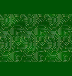 Computer motherboard background vector