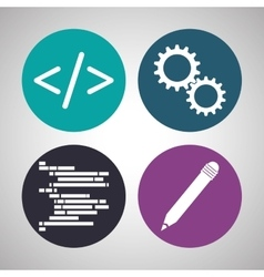 Development and software design vector