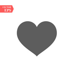 heart icon love symbol valentine s day vector image