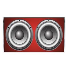 Loudspeaker Cabinet 2 vector