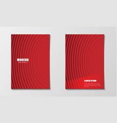 minimal abstract covers design template modern vector image
