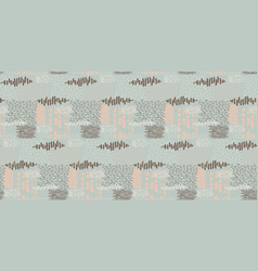Stitched abstract texture repeat seamless vector