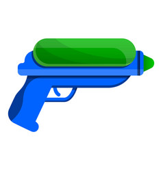 water gun icon cartoon style vector image