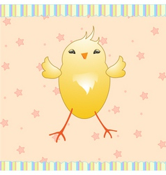 baby chick vector image