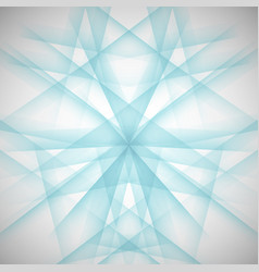 abstract blue lines on a white background vector image