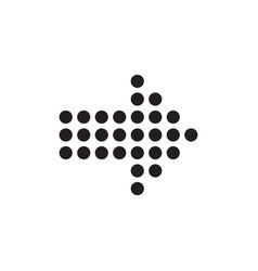arrow icon design element logo element vector image