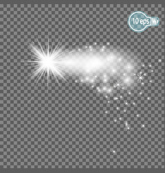 christmas starmagic stars isolated spark - stock vector image