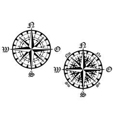 compass symbol vector image