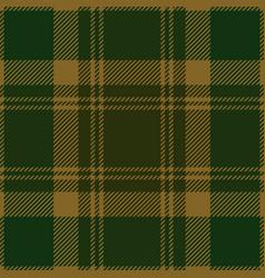 green tartan plaid seamless pattern vector image