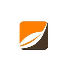 harvest logo design template vector image