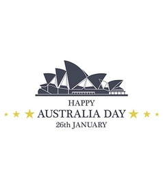 Independence Day Australia vector