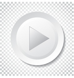 Play icon play video in flat style simple vector