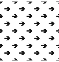 Right arrow pattern simple style vector