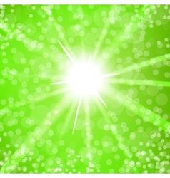 Summer Sun Light vector