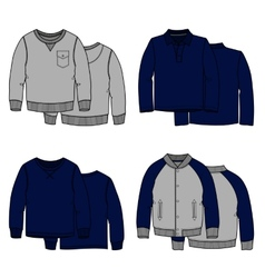Sweaters color vector