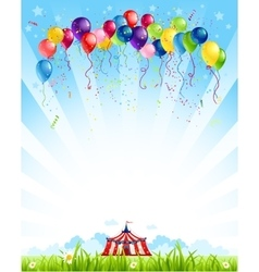 Traveling circus vector