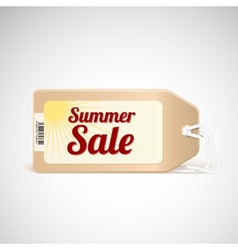 Summer sale tag vector