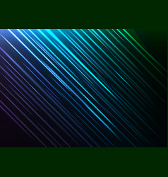 blue speed shower abstract line background vector image vector image