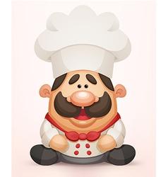 Cute Chef vector image vector image