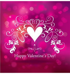 The valentine s day vector