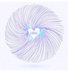 abstract circle vector image vector image