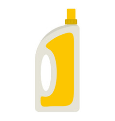 Bottle of conditioning or detergent icon isolated vector