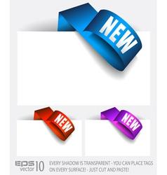 Paper tag vector