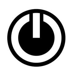 Power symbol icon vector