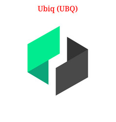 Ubiq ubq logo vector