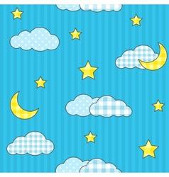 Night sky 2 vector image