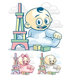 Child Development vector image