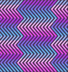 abstract zigzag pattern in pink and violet colors vector image