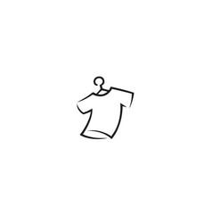 Creative t shirt logo vector