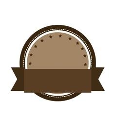 emblem or label icon image vector image